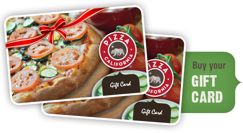 Pizza California - Gift Cards
